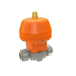 PVC-C Membraanafsluiter pneumatisch