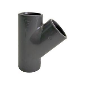 PVC-U T-stuk 45°