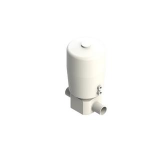 PVDF UHP Membraanafsluiter pneumatisch
