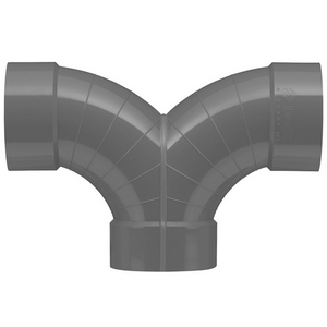 PVC-U Ventilatie Broekstuk