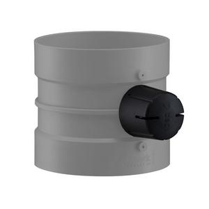 PVC-U Ventilatie Regelklep 15° instelbaar