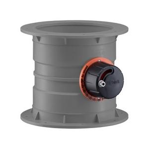 PVC-U Ventilatie Regelklep traploos instelbaar