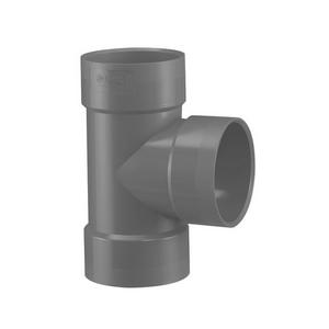 PVC-U Ventilatie T-stuk