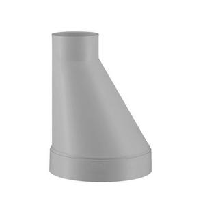 PVC-U Ventilatie Verloopstuk excentrisch