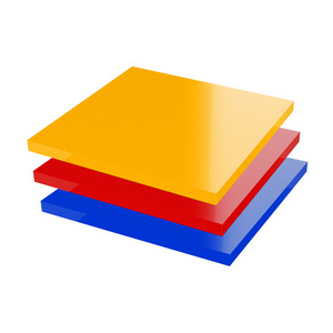 PMMA Acrylaat plaat gekleurd