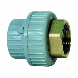 """GF PVC-C /Mess 3-del kopp. d63 -2"""" Bi dr PN16 EPDM 723550511"""