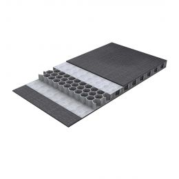 VIKUCORE E PLAAT HIGH IMPACT CURV ZWART 2850X1250X9,6MM