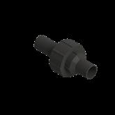 Agru PE100 3-delige koppeling 24 d25 Stomplas SDR11 FPM 70024012511