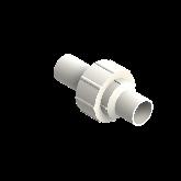 Agru PVDF UHP 3-delige koppeling Type 24 d32 Stomplas SDR21 35024503221