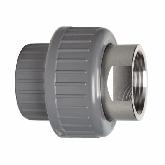"GF ABS /RVS 3-delige koppeling d25 -3/4"" Sok/bi dr PN10 EPDM 729540207"