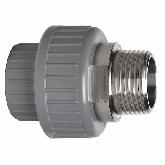 "GF ABS /RVS 3-delige koppeling d20 -1/2"" Sok/bu dr PN10 EPDM 729540706"