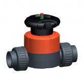 GF PVC-U Membraanafsluiter 514 d16 PN10 PTFE/EPDM Sok 161514031