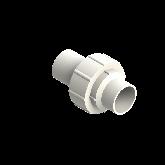 Agru PVDF UHP 3-delige koppeling Type 24 d50 Stomplas SDR21 35024505021