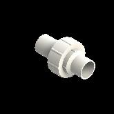 Agru PVDF UHP 3-delige koppeling Type 24 d40 Stomplas SDR21 35024504021