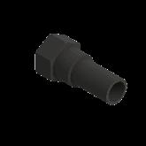 "AGRU PE100 /Messing Overgangsstuk Lang d25 -3/4"" Stomplas/bi dr PN16 70180002511"