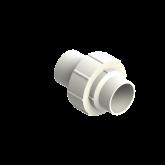 Agru PVDF UHP 3-delige koppeling Type 24 d63 Stomplas SDR21 35024506321
