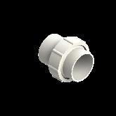 Agru PVDF UHP 3-delige koppeling Type 24 d90 Stomplas SDR21 35024009021