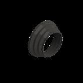 AGRU PVDF UHP Getrapt verloop d225 -d160 Stomplas SDR33 25007221633