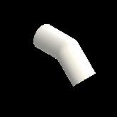 AGRU PVDF UHP Knie 45° Lang d50 Stomplas SDR21 35060005021