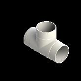 AGRU PVDF UHP T-stuk 90° d125 Stomplas SDR33 35006012533
