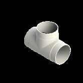 AGRU PVDF UHP T-stuk 90° d250 Stomplas SDR21 35006025021