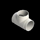 AGRU PVDF UHP T-stuk 90° d315 Stomplas SDR21 35006031521