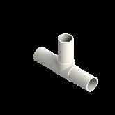 AGRU PVDF UHP T-stuk 90° Lang d25 Stomplas SDR21 35066002521