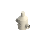 Agru PVDF UHP Drukreduceerventiel V82 d63 SDR21 Stomplas Met rvs manometer 35241106321