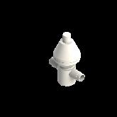 AGRU PVDF UHP Drukreduceerventiel V782 d50 SDR21 PTFE Stomplas Met manometer 35243005021