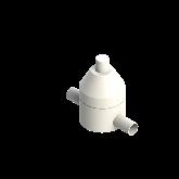 AGRU PVDF UHP Drukhoudventiel V186 d20 SDR21 PTFE 0-10 bar Stomplas 35244002021