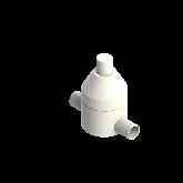 AGRU PVDF UHP Drukhoudventiel V186 d40 SDR21 PTFE 0-10 bar Stomplas 35244004021
