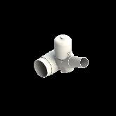 Agru PVDF UHP Membraanafsluiter Normally closed d110 -d63 SDR33/21 PTFE/EPDM Stomplas 35345116331
