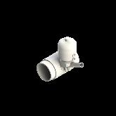 Agru PVDF UHP Membraanafsluiter Normally open d110 -d25 SDR21 PTFE/EPDM Stomplas 35346112521
