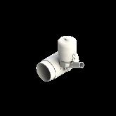 Agru PVDF UHP Membraanafsluiter Normally open d110 -d32 SDR33/21 PTFE/EPDM Stomplas 35346113231
