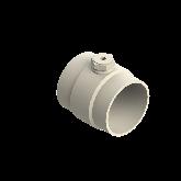 "AGRU PVDF UHP Meetadapter d160 -3/8"" Stomplas/bi dr SDR21 35220161621"