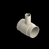 AGRU PVDF UHP Verloop t-stuk 90° d140 -d63 -d140 Stomplas SDR33/21 35307146331
