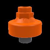 "ASV PVC-U Membraandrukopnemer MDM902 1/2"" -1/4"" G EPDM/PTFE Bi dr Npt 212973"
