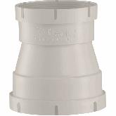 Beck PP Ventilatie Verloopstuk d110 -d90 EFFITECH RAL7032 Steekmof EPDM r301100090md