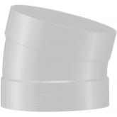 Beck PVDF Ventilatie Bocht 15° d110 Sok  B6150110