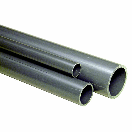 GF PVC-C Buis Grijs RAL7038 d160x11,9mmx5m PN16 163017142