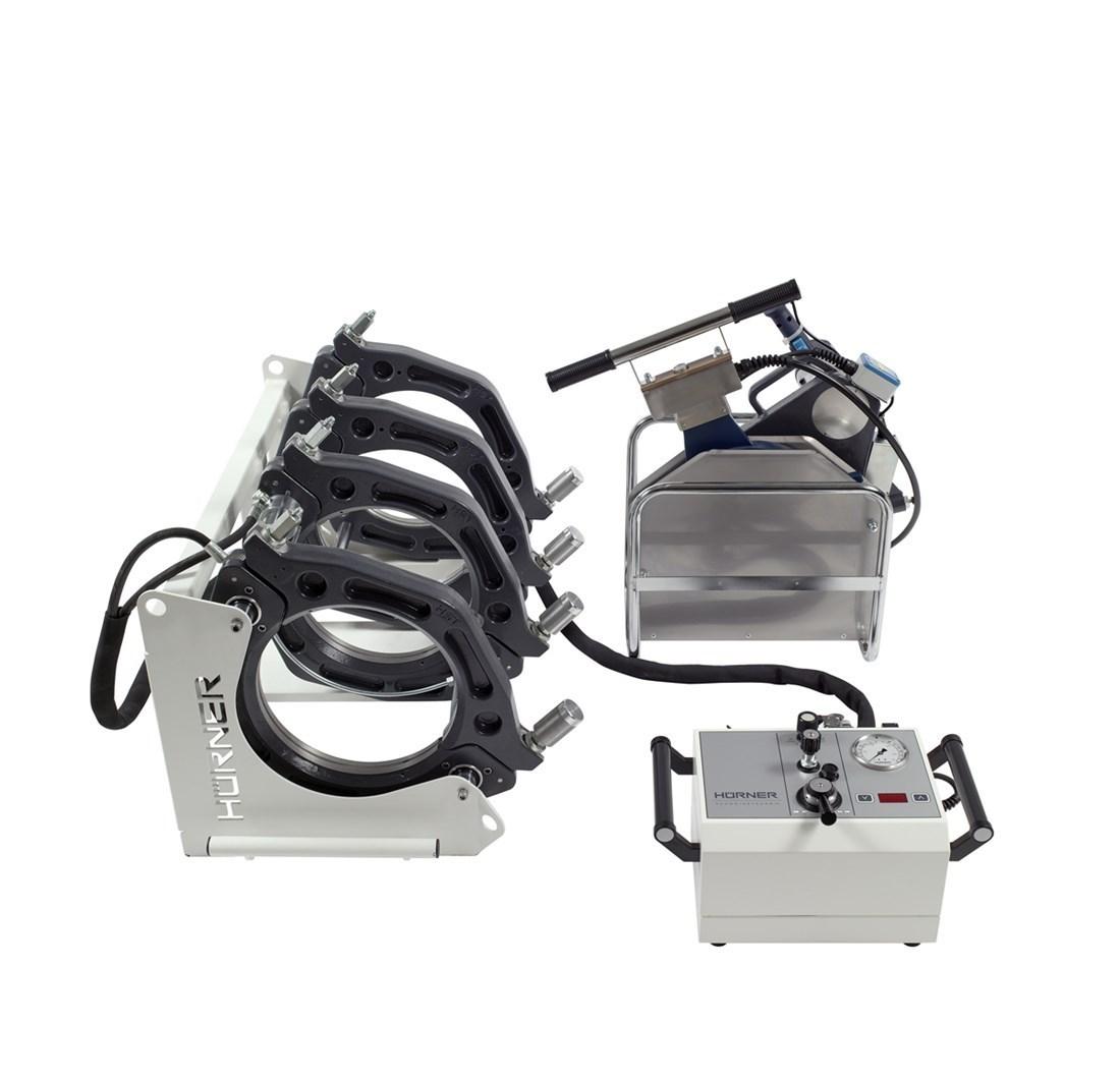 Hurner Stomplasmachine 250 manual d75 t/m d250 230V Inclusief schalen 200-704-250