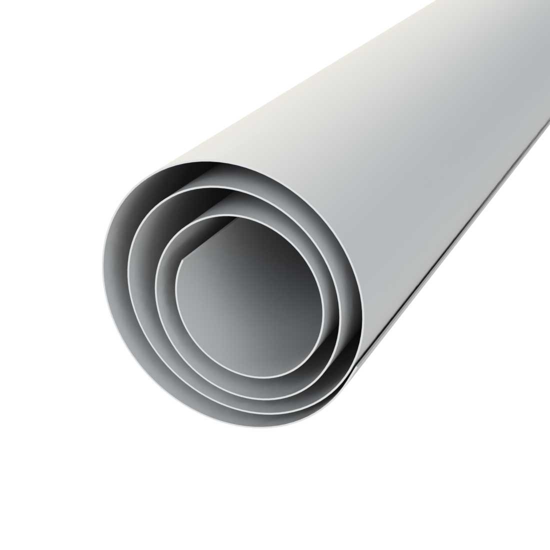 Vikunyl PVC Digitaal Wit 1309 Mat Rol 1000mmx0,3mm  l=100m