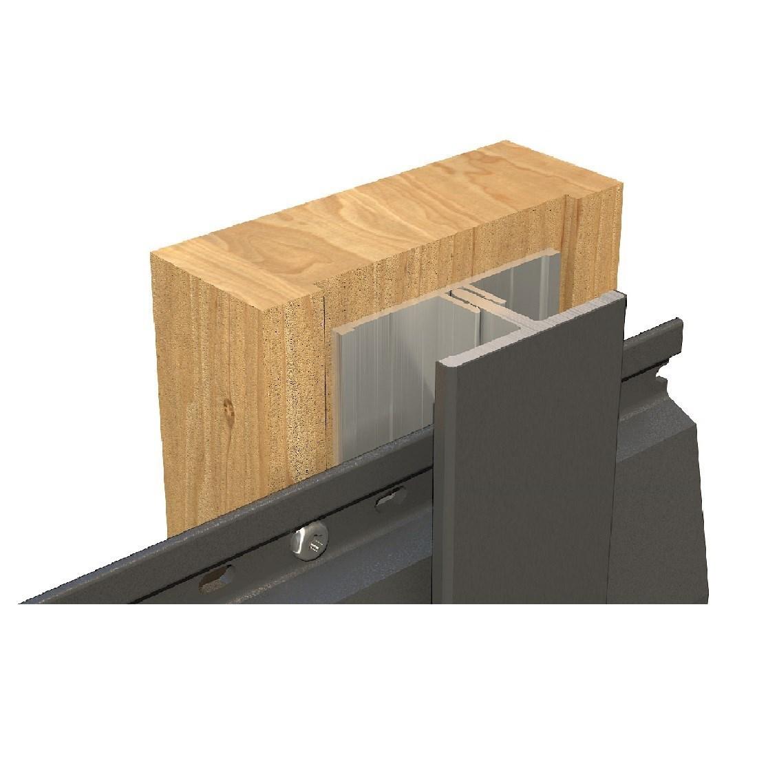 Gevelit PVC Verbindingsprofiel Cremewit 1379 l=4m