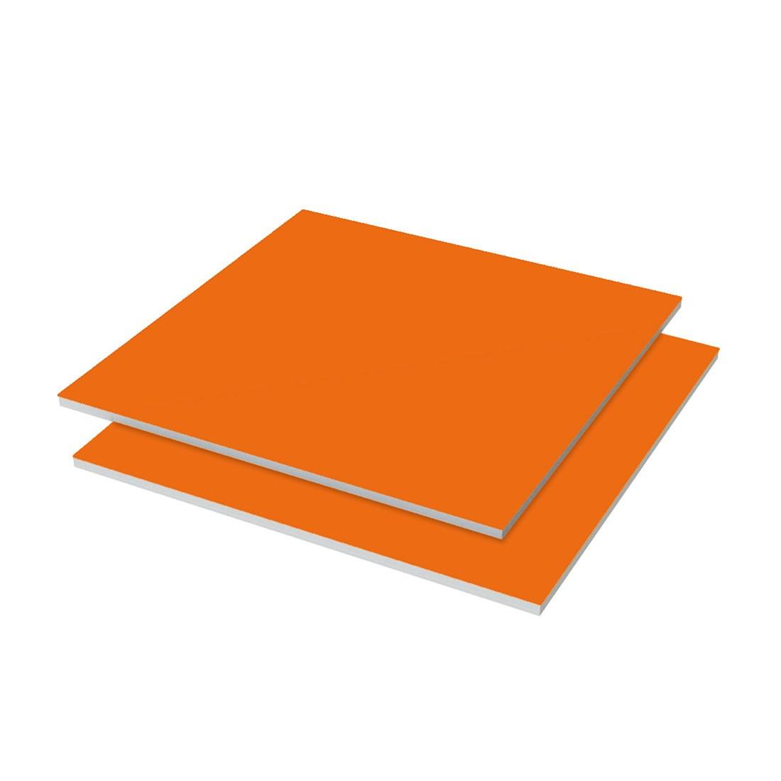 Katz Display board Karton Oranje fluoriserend 20st/doos 860x610x1,6mm