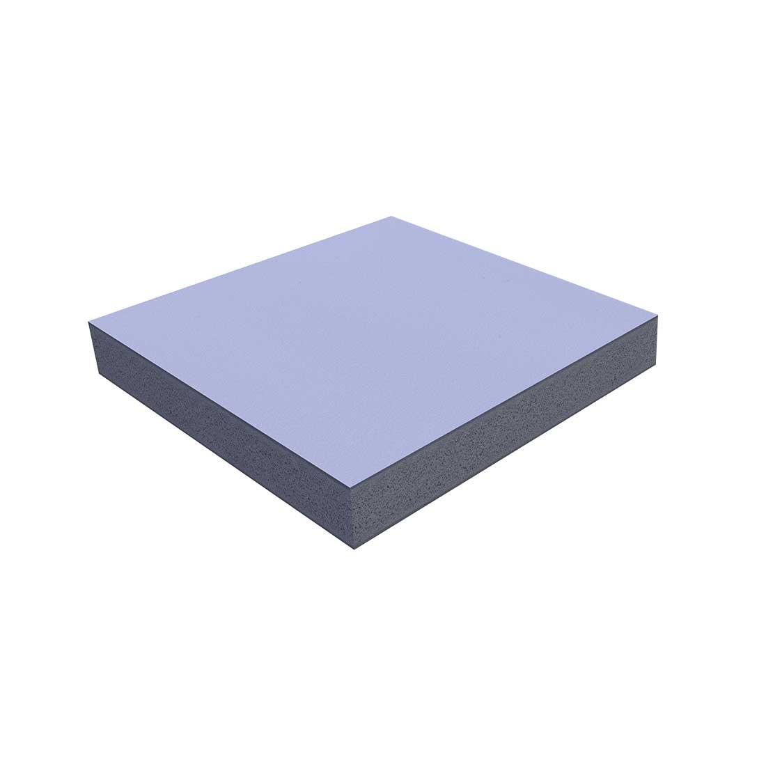 Vinplast PP-foam Plaat Grijs RAL7004 3000x2000x10mm