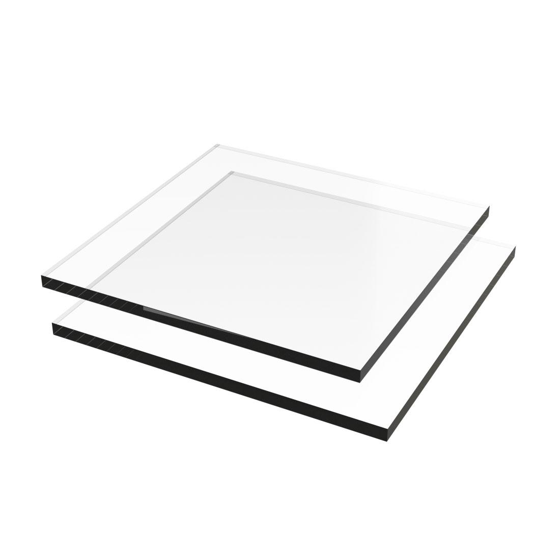 Vivak PETG Plaat Helder 099 Dubbelzijdig folie 2050x1250x0,5mm
