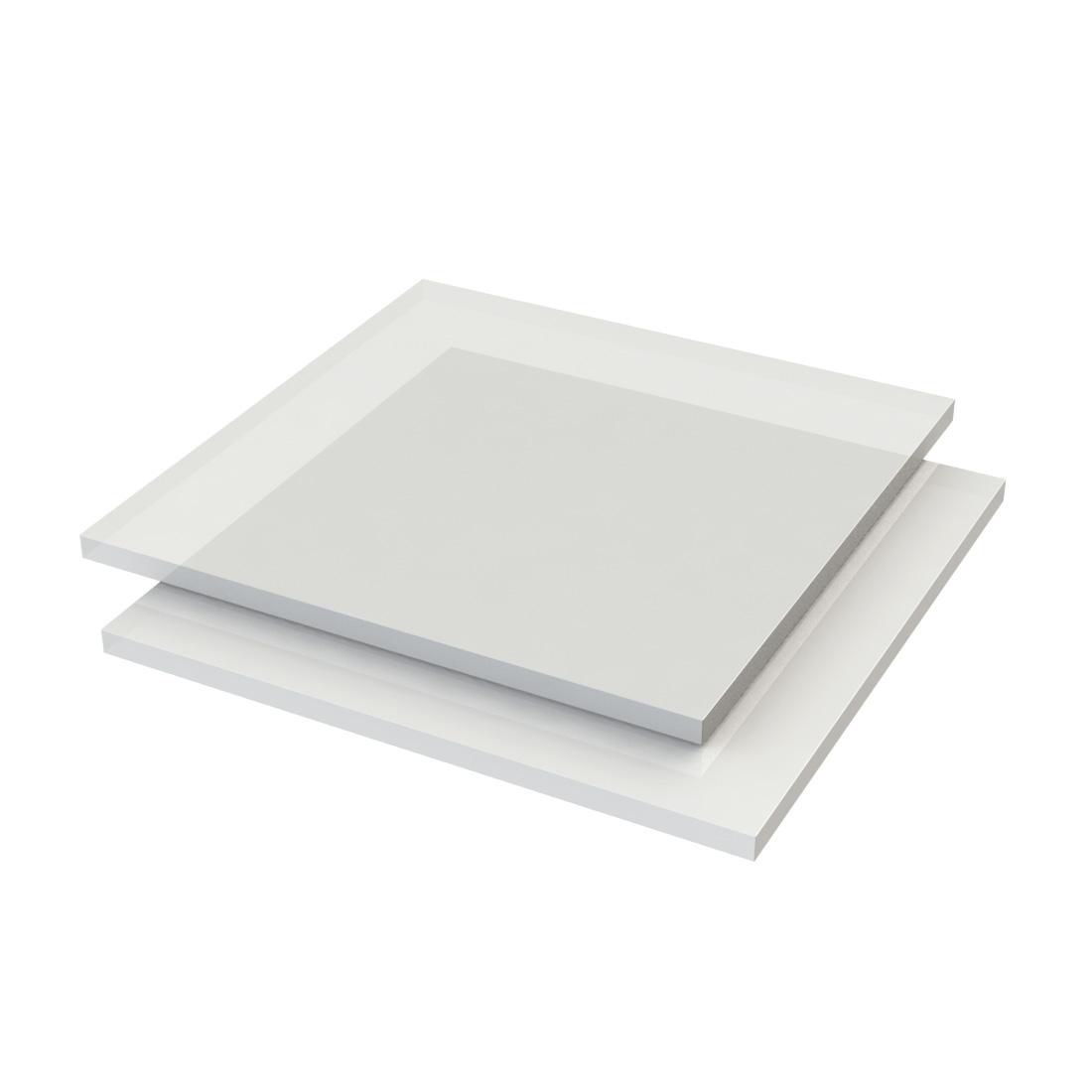 Altuglas PMMA Plaat Gegoten Opaal 100 27016 LT50% 3050x2030x10mm