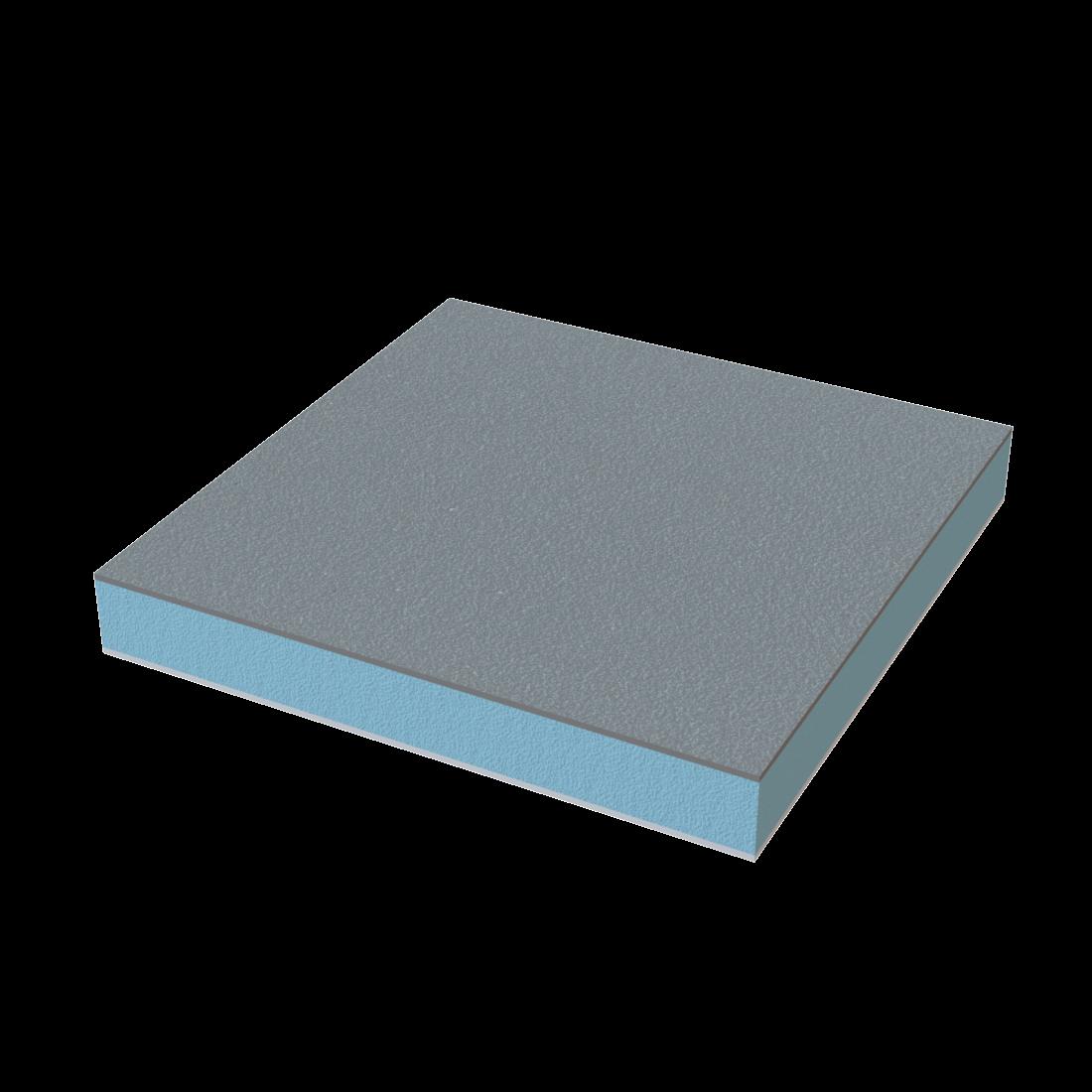 Vikuplex floor PET+GFR Plaat TK RG150 Anti-slip Grijs ±RAL7043 4500x2200x15mm 695162