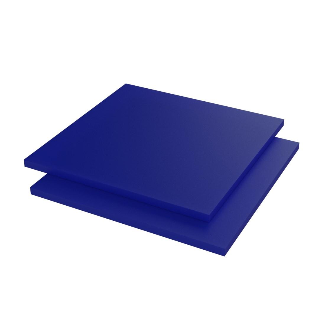Vinplast POM C Plaat FG-10/2011 Blauw 3000x620x10mm