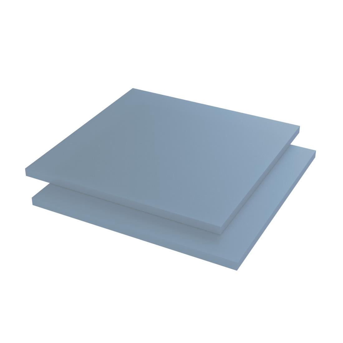 Vinplast POM-LX Plaat Blauw 2000x500x10mm